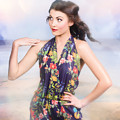Outdoor Fashion Portrait. Spring Twilight Beauty by Jorgo Photography - Wall Art Gallery