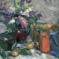 Outdoor Lilacs by Mike Kirschel