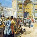 Outdoor Market by Munir Alawi