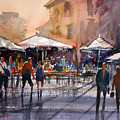 Outdoor Market - Rome by Ryan Radke