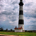 Outer Banks Beach Lighhouse  by Randy Steele