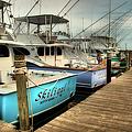 Outer Banks Fishing Boats Waiting by Dan Carmichael