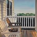 Outer Banks Morning Sun by Elizabeth Blanchard