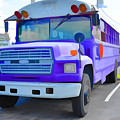 Outer Banks University Bus 1 by Jeelan Clark