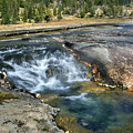 Outlet Firehole Lake by Robert Bales