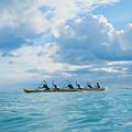 Outrigger Canoe by Bob Abraham - Printscapes