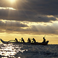 Outrigger Canoe by Vince Cavataio - Printscapes