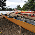 Outrigger Canoes by Andy Smy