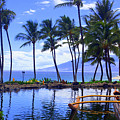 Outrigging Wailea  by Todd Hummel