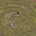 Oval Abstract Panel 6150-5 by Tom Janca