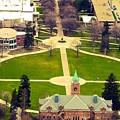 Oval At University Of Montana  by Dan Hassett