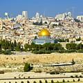 Over Jerusalem by Barbara Stellwagen