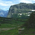 Over Logan's Pass by Tracey Vivar