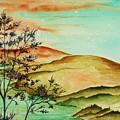 Over Orange Hills by Brenda Owen