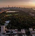 Over The City Central Park by Anthony Fields