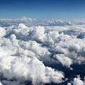 Over The Heavenly Clouds by Mariola Bitner