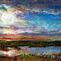 Over The Marsh by Peter R Davidson