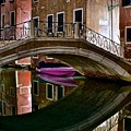 Over The River And Through The Buildings by Frozen in Time Fine Art Photography