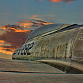 Over The Shoulder F-84g by Tommy Anderson