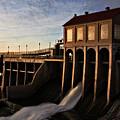 Overholser Dam by Lana Trussell