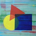 Overlapping Shapes by Nancy Sisco