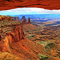 Overlooking Canyonlands National Park    Moab Utah by Gary Baird