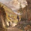 Overlooking Ramsau Bei Berchtesgaden by Mountain Dreams