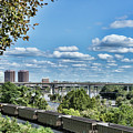 Overlooking Richmond by Sharon Popek