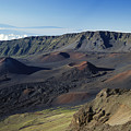 Overview Of Haleakala Cra by Rita Ariyoshi - Printscapes