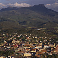 Overview Of Town Of Trinidad by Phil Schermeister