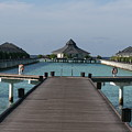 Overwater Bungalows by Andrei Fried