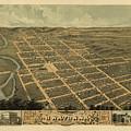 Owatonna, Minnesota 1870 by MapResearcher