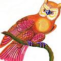 Owl by Jane Tattersfield