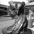 Owl Sculpture Grand Junction Co by Tommy Anderson