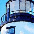 Owls Head Light House by Modern Art
