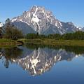Oxbow Grand Teton by Jerry Schiller
