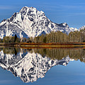 Oxbow Snake River Reflections by Adam Jewell