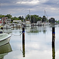 Oxford City Dock Eastern Shore Of Maryland by Brendan Reals