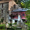 Oxford Mill-summertime by Michael Ciskowski