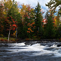 Oxtongue River Ontario Autumn Scenery by Oleksiy Maksymenko