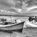 Oyster Boat Ap3392 by Patrick Henrickson