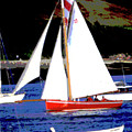 Oyster Boats by Brian Roscorla
