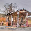Ozark Car Filling Station by Douglas Barnett