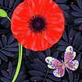 P Is For Pretty Poppy by Valerie Drake Lesiak