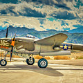 P38 Fly In by Sandra Selle Rodriguez