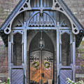 Pa Country Churches - Coleman Memorial Chapel Exterior - Near Brickerville, Lancaster County by Michael Mazaika