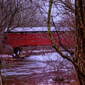 Pa Covered Bridge by Jim Turri