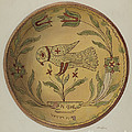 Pa. German Pie Plate by Albert Levone