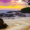 Paako Beach Sunset Jewel by Sharon Mau