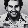 Pablo Escobar Mug Shot 1991 Vertical by Tony Rubino